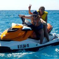 jet ski double trip in corralejo fuerteventura