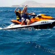 fun and adventure on jet ski in fuerteventura